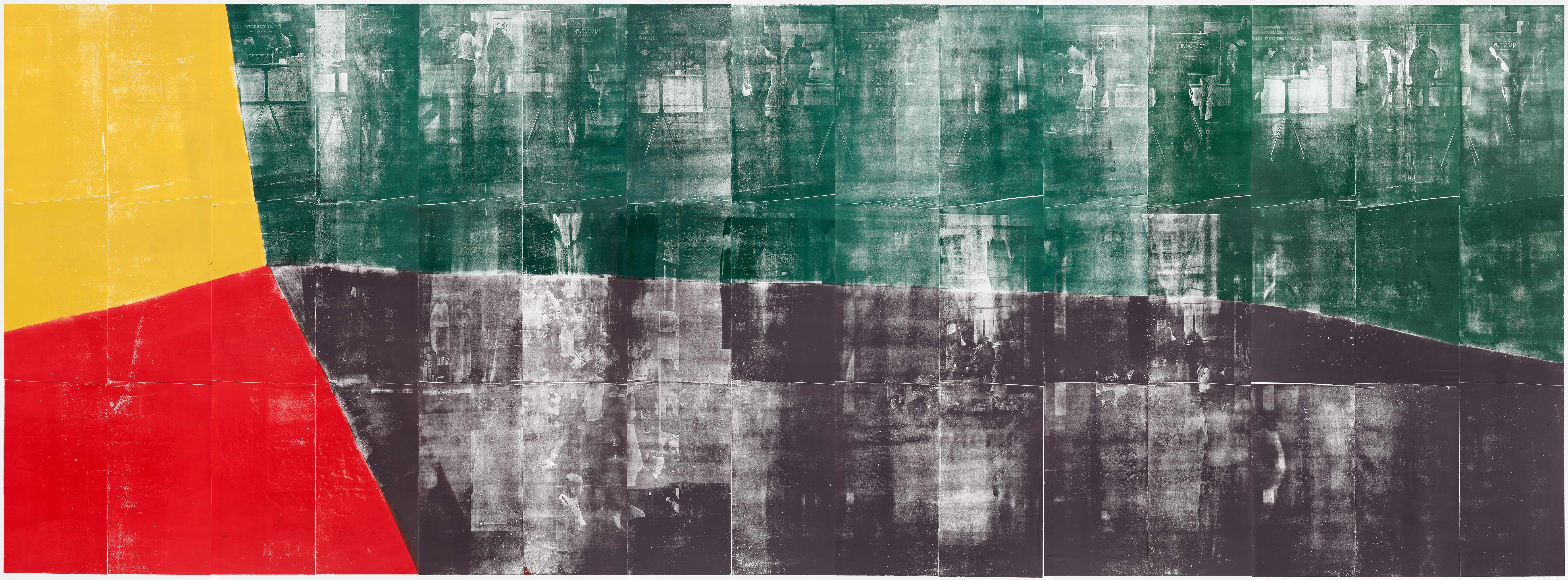 Farbkreis 1 Kunstwerk