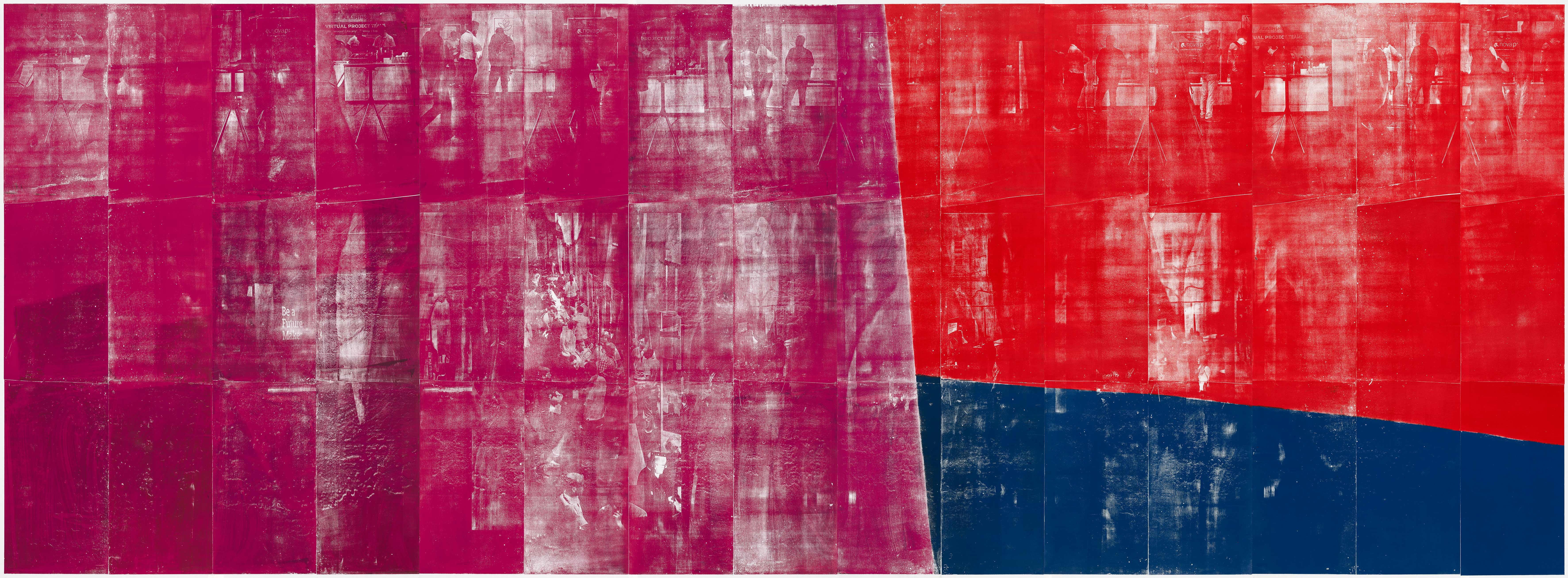 Farbkreis 2 Ende Kunstwerk
