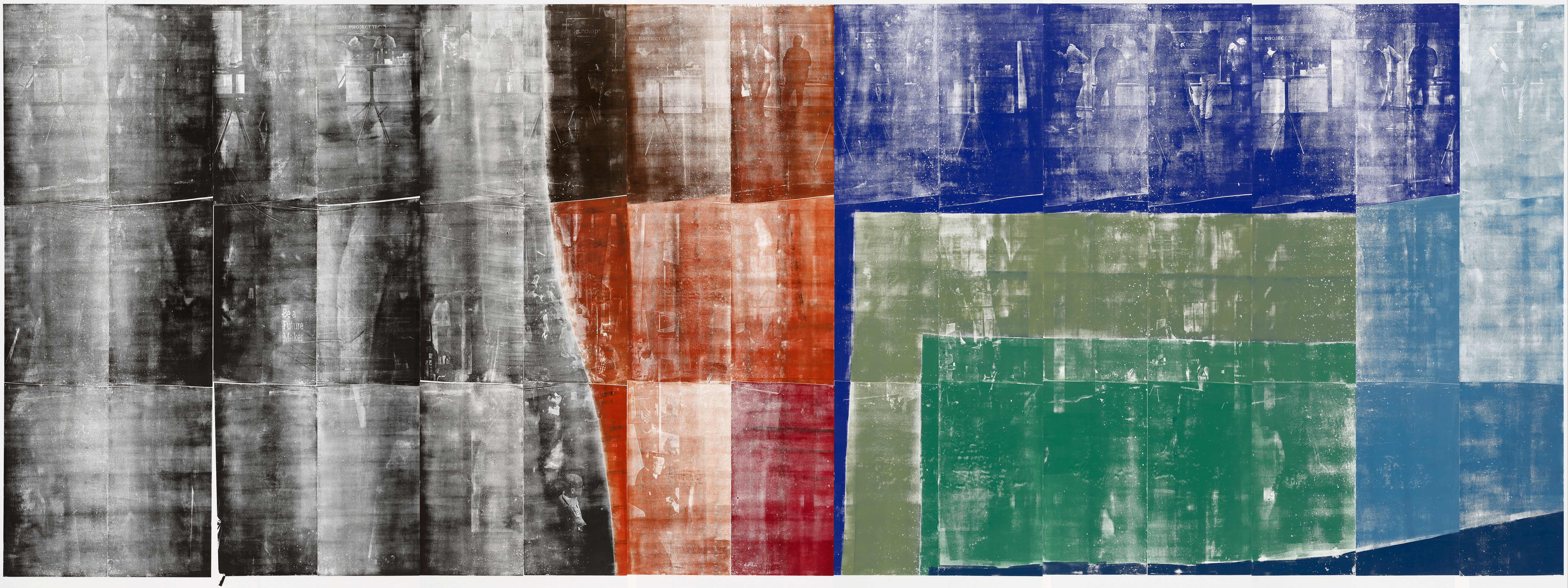 Farbkreis 3 Kunstwerk