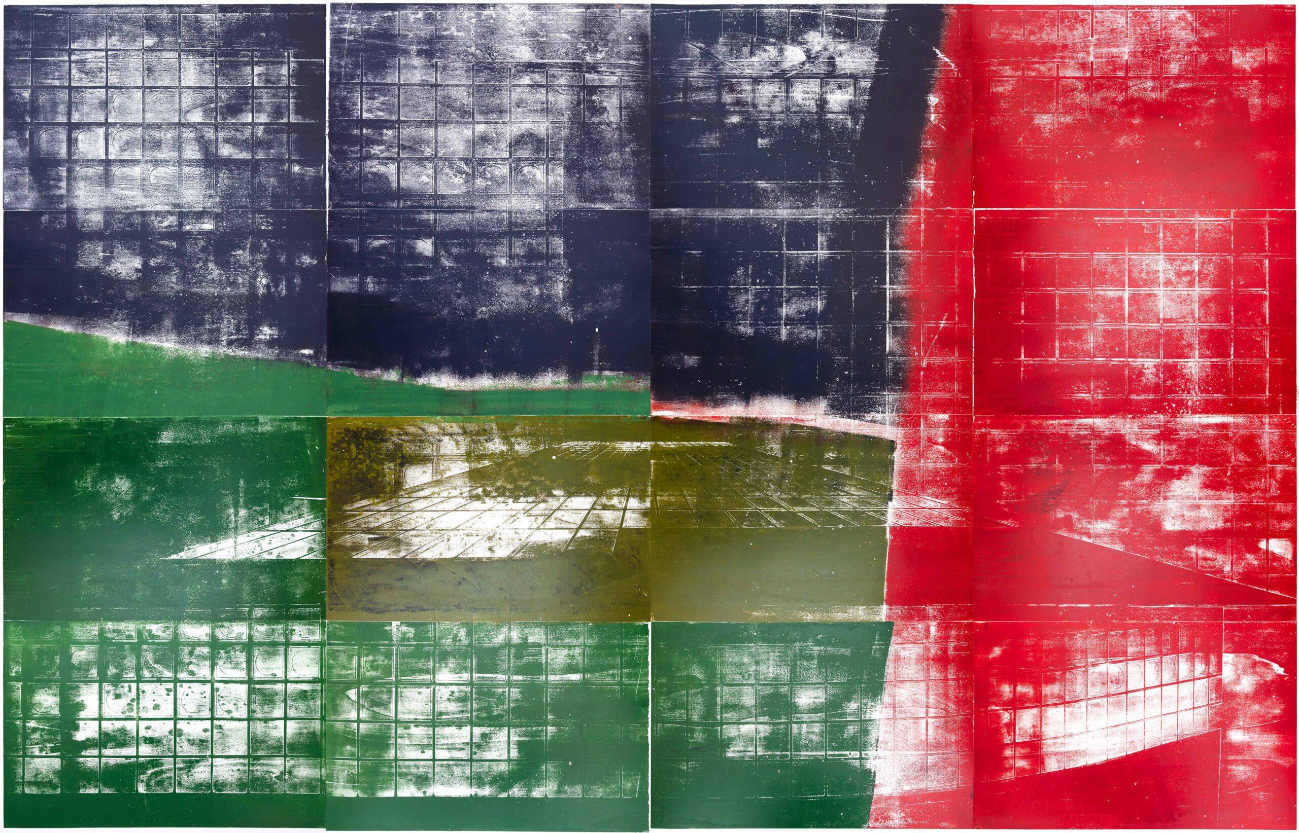 Farbkreis 5 Institut Mathildenhöhe Städtische Kunstsammlung Darmstadt Kunstwerk
