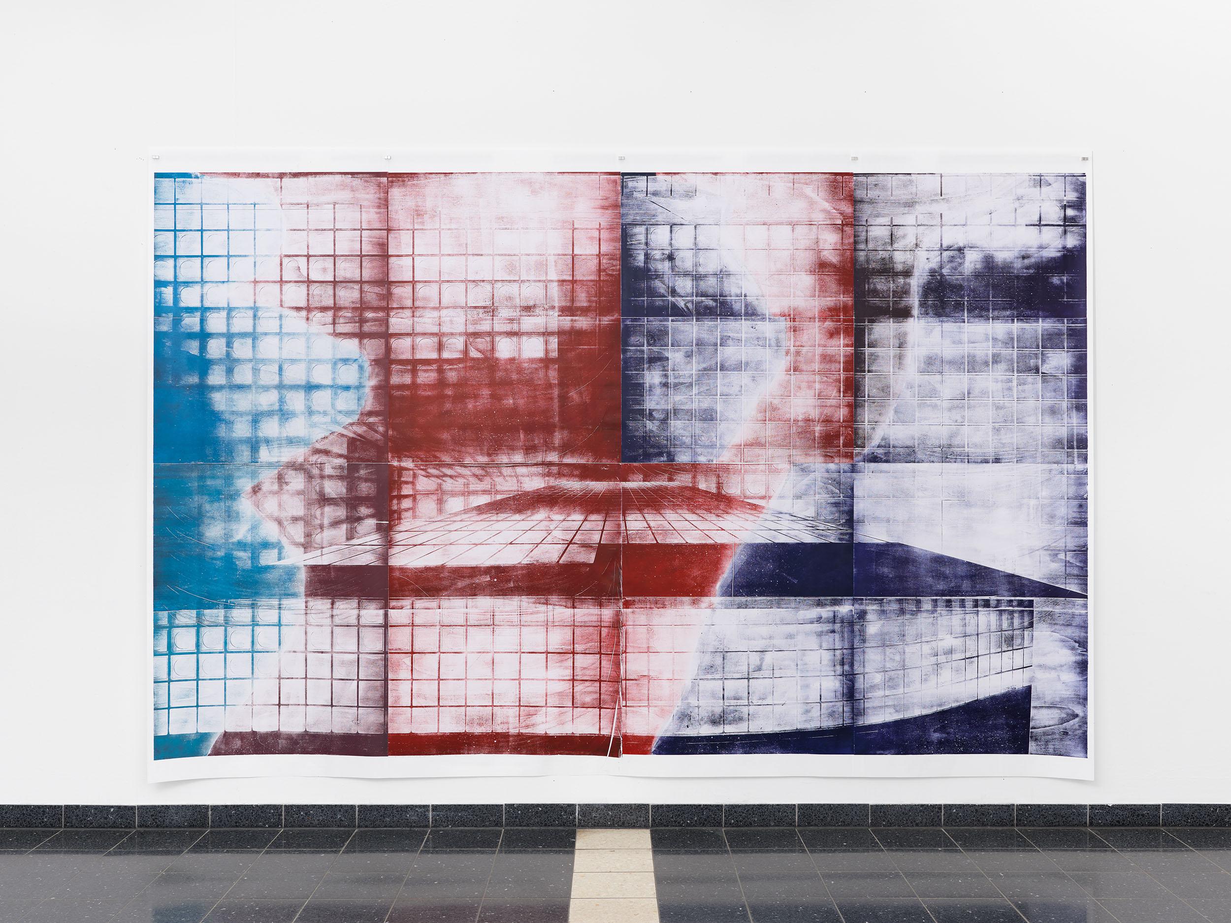 Installation view: Size, Kunsthalle Darmstadt, 2021
